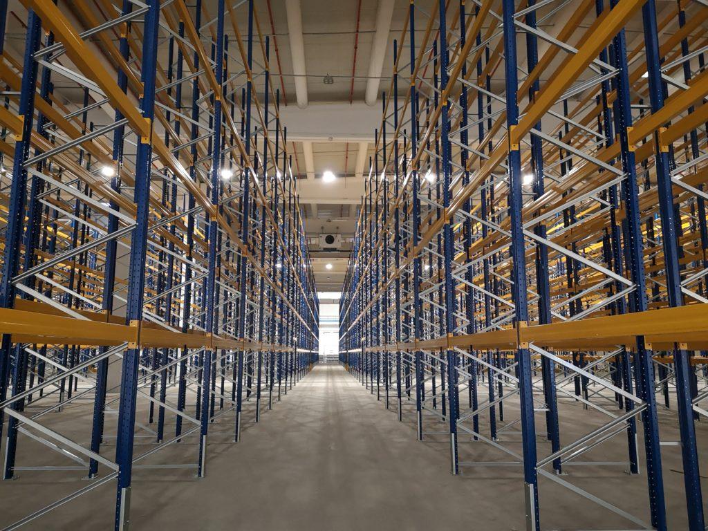 Pavimento industriale per logistiche
